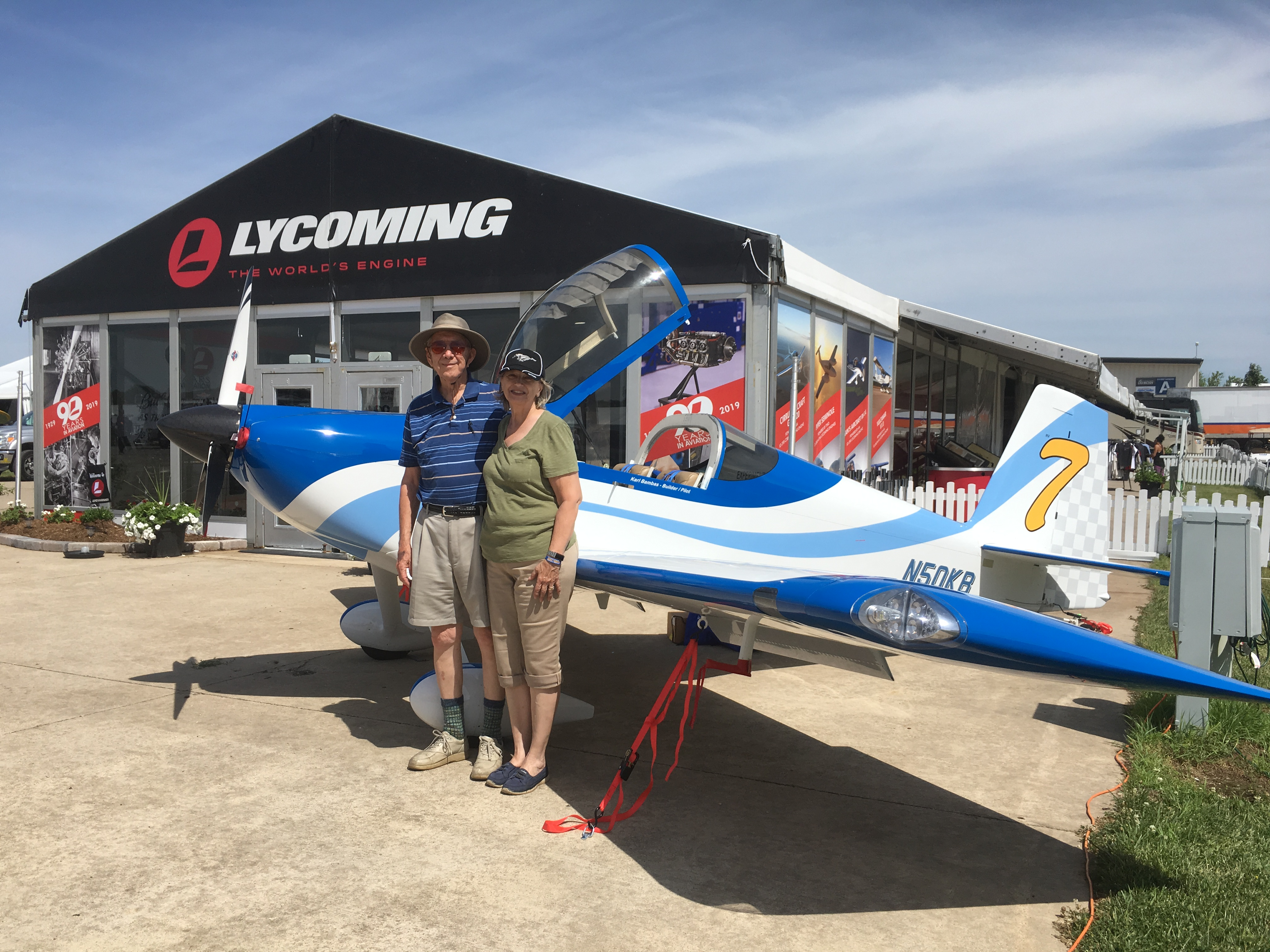 RV-7 Builders Log – The Bambas Family on